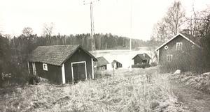 Fiskarbostället vid Björnöhalsen 1952.
