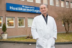 Peter Poensgen, läkare och verksamhetschef på Bryggargatan.