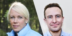 Saila Quicklund (M) och Tomas Tobé (M).