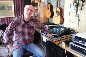 Lars Brasse Kantén är en av de drivande bakom det blomstrande kulturutbudet i Näsåker.