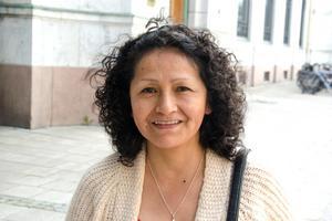 Maria Vilca, 55, undersköterska, Ljustadalen: