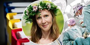Svensk sjukvård ägnar allt mer tid och kraft åt administration. Jonna Bornemark, professor i filosofi, menar att svensk sjukvård måste förändras.