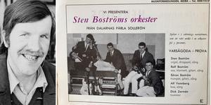 Sten Boströms Orkester från Sollerön. foto: Birger Nylén