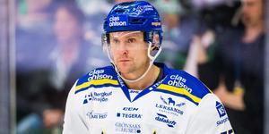 Jonas Ahnelöv klev av i den första perioden i matchen mot Djurgården, och saknades sedan i den andra också. Bild: Ludvig Thunman/Bildbyrån.
