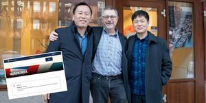 Ju Jong Hok och Ryang Yong Jin träffade Rolf Blomkvist på Eororesor som nu börjar erbjuda resor till Pyongyang.