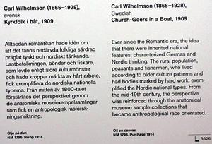 Exempel på Nationalmuseums politiserade museipedagogik . Den liberalt sinnade jämställdhetsivraren Wilhelmson blir plötsligt brunsmetad som misstänkt rasist på Nationalmuseum.. Foto: Leif Gren