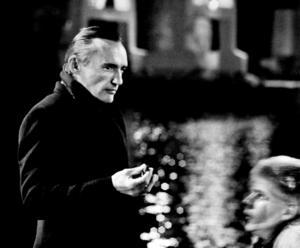 """Dennis Hopper var en av flera stjärnor som Kåre Mölder spelade mot i """"Slagskämpen"""" – inspelning 1983 med premiär året efter. Bild: Joakim Strömholm"""