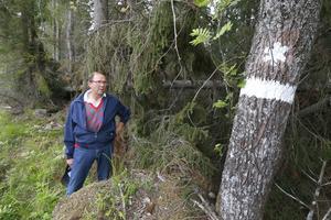 – Granbarkborren kan ju flytta på sig, den gör inte skillnad på reservat, biotopskydd eller annan skog. Myndigheter måste ta ett ansvar och åtminstone plocka ut granar som ligger, säger Bertram Schmiterlöw.