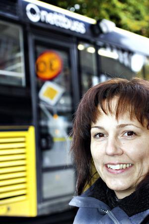 Helena Werre, Trafikverket, är samhällsbyggnadschef för Region Mitt.