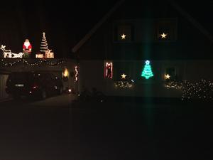 Julen har kommit till Kuskgatan 11.