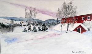Målning av Lars Eurenius.