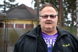 Per-Erik Persson la över hundra timmar på Hjältedagen.