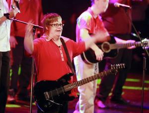 Rock'n'Roll-nivån var hög när Ett himla liv hade sin årliga julshow.