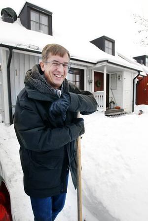 Lennart Sjögren gillar snöskottning – tur i vinter!