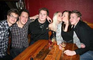 Konrad. Karl, Johan, Sebastian, Sofie, Amandah, och Dan