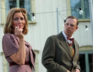 Annie Goebel och Ricky Lundgren.