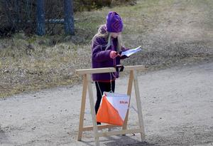 På onsdag kommer många barn att testa orientering för första gången.