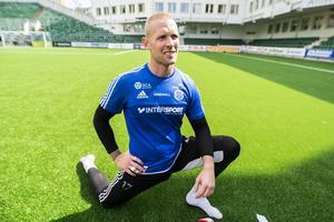 Tommy Naurins GIF hade en tuff omstart mot IFK Göteborg.