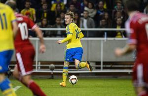 Emil Forsberg får chansen från start.