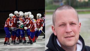 Västanfors sportchef Björn Forsberg har ett ständigt arbete med att forma truppen.