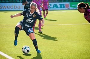 Paulina Byström får åka till Bosön och visa upp sig med U20-landslaget.Foto: Petter Öhrling
