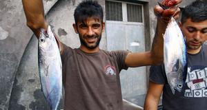 Färsk fisk är en av de viktigaste ingredienserna på Sicilien.
