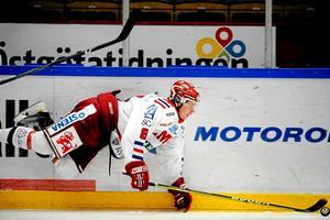 Sean-Michel Sunnqivist när han spelade i Timrå.