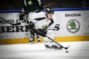 Johan Skiöld under sina tre säsonger i Östersund.