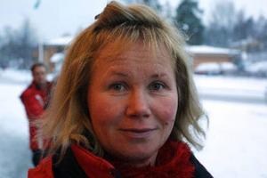 Yvonne Lehnberg, 44 år, Nyland.– Det var nog i januari i år. På Gärdet i Sundsvall, det ingick i en utbildning jag gick.