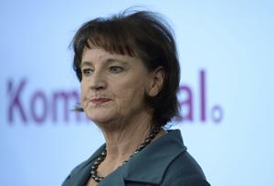Annelie Nordström. Kommunals ordförande.