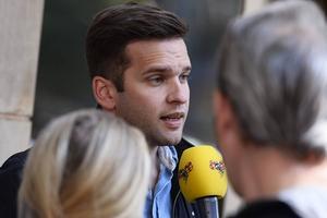 Gabriel Wikström – oprövad minister med ansvar för sjukvården.