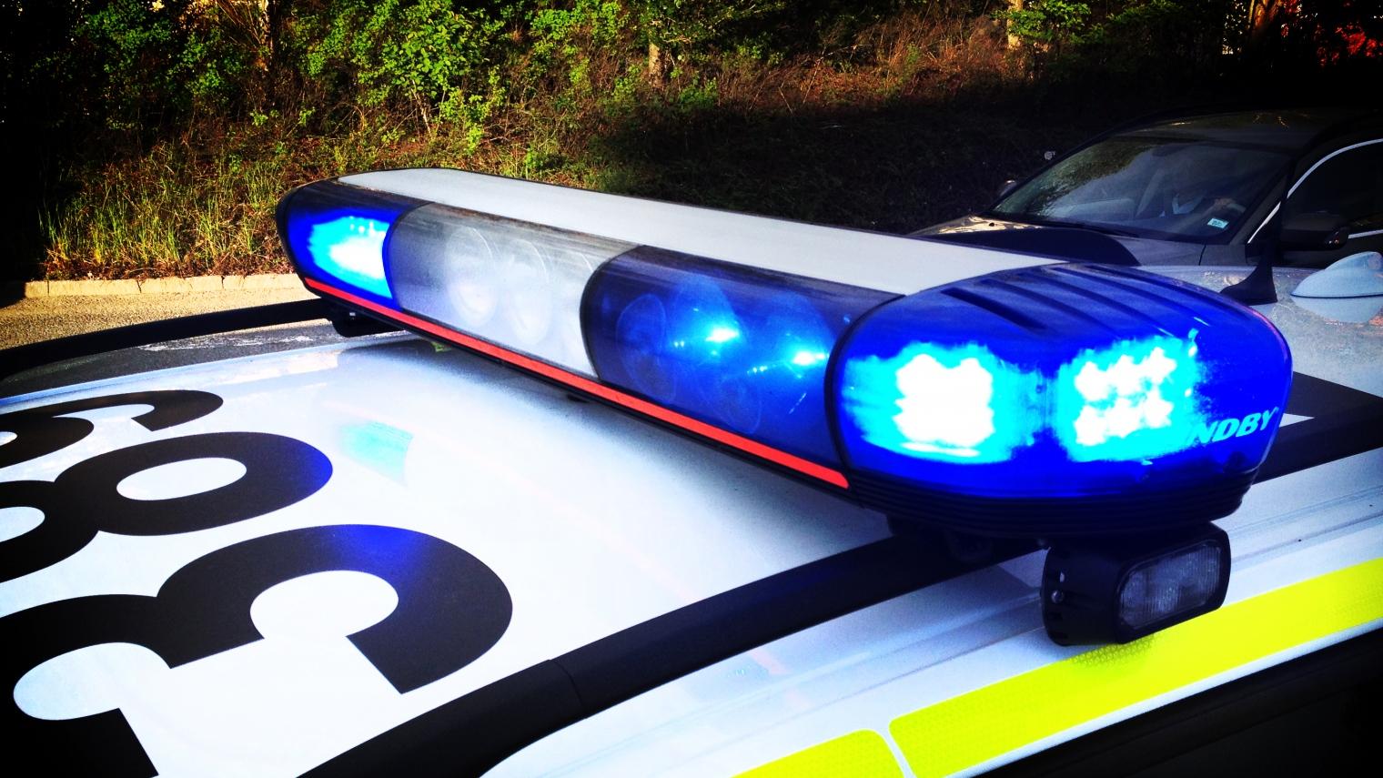 Fonstertittare greps av polis
