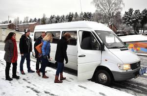 I dag besökeer en Ångedelegation Kramfors för att studera deras arbete med att utveckla den lokala handeln.