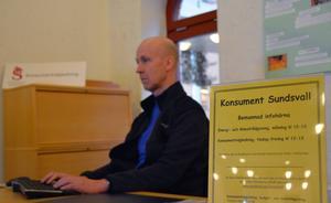 Konsument Sundsvall har sina lokaler i Kulturmagasinet. Hit kan man söka sig om man behöver hjälp att få ordning på ekonomin.