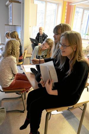 Kul grejer. Grej of the day är ett nytt inslag i skolvardagen för mellanstadieleverna på Skogstorpsskolan.