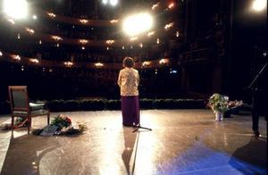 När Birgit Nilsson firade sin 80-årsdag hyllades hon på Kungliga Operan i Stockholm. Foto: Leif R Jansson