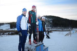 Herrpallen toppades av vinnaren Måns Sunesson, Sellnäs IF.