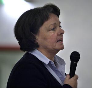Anna-Carin Keisu är lärande- och kulturnämndens ordförande.