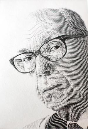 Idolen Czeslaw Slania gjorde runt 1000 frimärken under sin karriär.