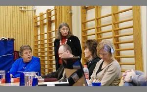 -- Jag ställer inte upp på det här förslaget, sade Gun Andersson (c) som är andre vice ordförande i social- och utbildningsnämnden.FOTO: ANDERS BJÖRKLUND