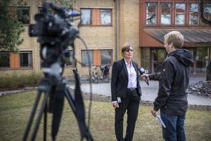 Karin Stikå Mjöberg. Landstinget.