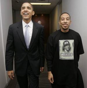 Inte helt lätt. Barack Obama gillar rapmusik – och har tidigare sagt att han ofta lyssnar på Ludacris. Men Ludacris valvideo till förmån för Obama blev en belastning för presidentkandidaten.