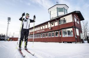 Så här såg det ut i januari på Östersunds skidstadion.