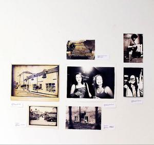 """Från utställningen """"Tre systrar"""" av Jenny Persson på kulturhuset  i Järpen.Foto: Torbjörn Aronsson"""