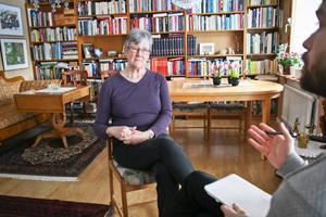 Lena Hjelm-Wallén är ordförande i valberedningen för Socialdemokraterna i Västmanland.