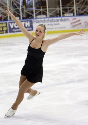 Linn Olsson slutade tvåa i junior B.