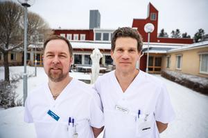 Distriktsläkarna Anders Winsö och Johan Färnkvist är åter tillbaka i Myrviken.