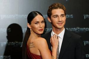 """Shia LaBeouf och Megan Fox slog igenom i den första """"Transformers""""-filmen. Nu har de återförenats i uppföljaren."""