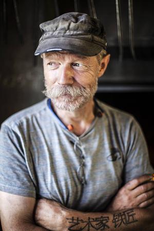Det var när Peter Hedman gick en tvåårig utbildning till hantverkssmed i finska Ekenäs som han insåg att konstsmide var hans grej.
