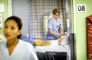 Patientkontakten är viktig. Anna-Karin Ingwersen skulle gärna ha mer av den.